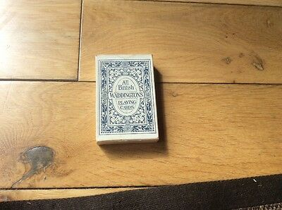 vintage waddingtons all british playing cards