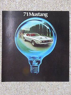 1971 Fords (Mustang, Torino, Maverick, Pinto, Ford) Sales Brochures