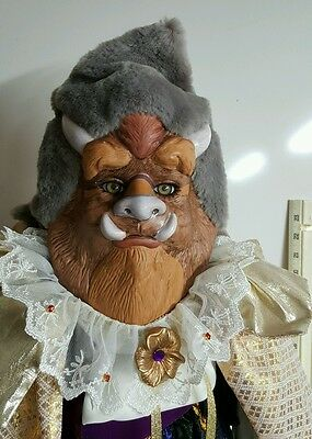 """Showstoppers 28"""" Florence Maranuk Porcelain Doll Disney's Beauty And The Beast"""