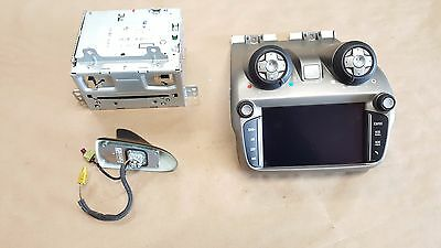2012 2013 2014 2015 Camaro SS Touch Screen Radio Climate controls Face plate