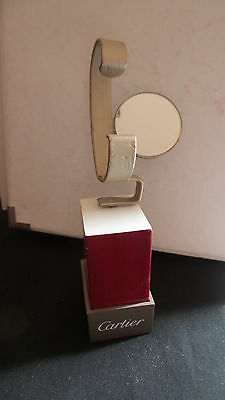 CARTIER Display Watch Stand Window Shop Espositore WITH GLASS SANTOS VINTAGE