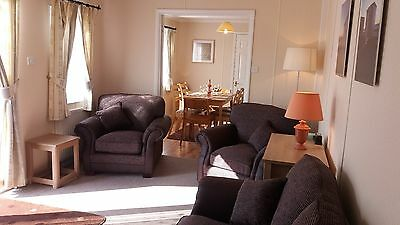 3 bed lodge. Nr PADSTOW. CORNWALL. October half term 2017.
