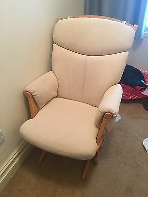 Tutti Bambini Nursing Chair With Matching Stool