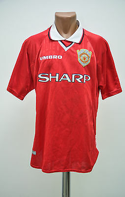 Manchester United England 1999/2000 Home Football Shirt Jersey Umbro