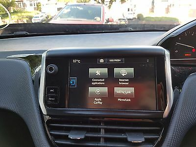 2015 Peugeot 208 Sat Nav Multifunction Touch Display Screen 9812862880