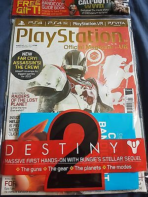 PLAYSTATION OFFICIAL MAGAZINE UK - ISSUE 137 with free Bandicoot Guide book.