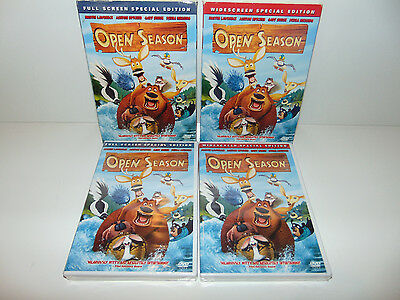 Open Season DVD 2007 Widescreen/FULLSCREEN Movie Special Edition SEALED NEW