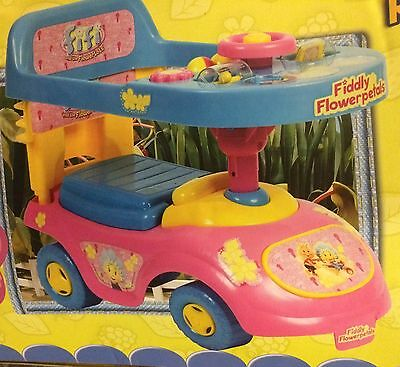 New Fifi And The Flowertots 4 in1 ride on/push toy-  changes to suit their needs