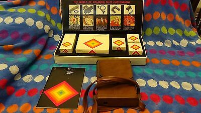 Polaroid SX-70 Land Camera with leather case and accessory kit
