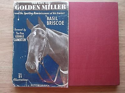 """the Life Of Golden Miller"" By Basil Briscoe 1939 1St Edition V/g In An Original"