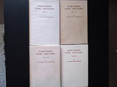 """northern Turf History"" Vols 1/2/3/4 Full Set In Original Protected Dust Jackets"
