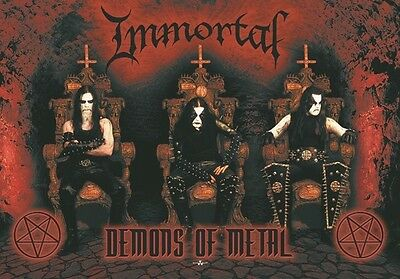Immortal Demons of metal Textile Poster Flag
