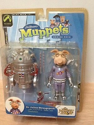 The Muppet Show Dr Julius Strangepork Rare Palisades Figure In Box