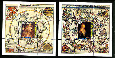 Tchad 2010 4 Sheets Mng Durer Durero Dürer Art Paintings Arte Pinturas