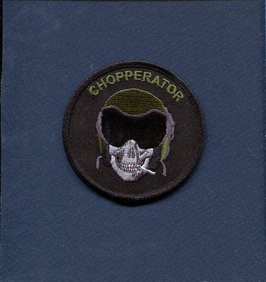 CHOPPERATOR USMC MARINE CORPS US ARMY AVIATION Helicopter Squadron Patch