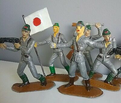 Japan - Armies of the World by Comansi vintage toy soldiers 60' made in Spain