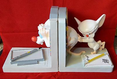Official Warner Bros. Pinky and the Brain Time Machine Bookends