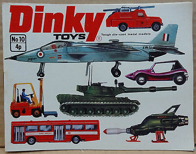 Dinky Toys No. 10 1974 catalogue U.K. Edition - MINT perfect ex trade pack