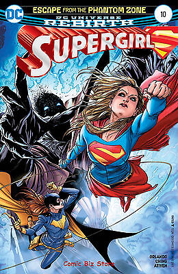 Supergirl #10 (2017) 1St Printing Bagged & Boarded Dc Universe Rebirth