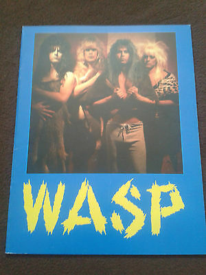WASP Welcome To The Electric Circus 1986 Tour Programme
