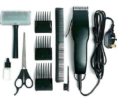PET GROOMING KIT - Electric Dog Groomer Hair Shaver Clippers Trimmer Kit dm Comb