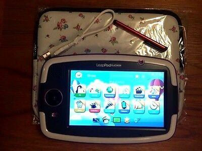 Leapfrog LeapPad Platinum console purple - 50+ worth of apps, case, USB