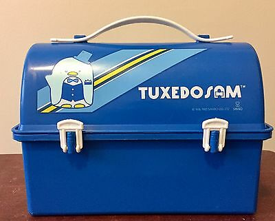 1983 Vintage Tuxedo Sam Lunch Box By Sanrio