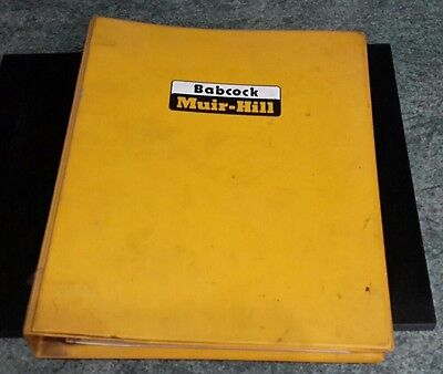 Muir hill 121 and 111 illustrated parts book