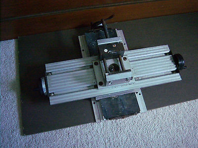RARE Sears Craftsman Drill Press Milling Table Attachment X-Y Cross Slide 27585