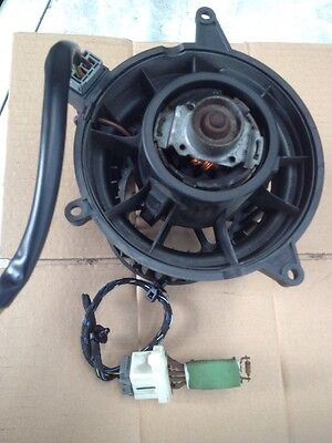Ford Fiesta V Mk6 Heater Blower Motor And Resistor 2002 To 2008