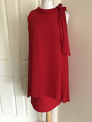 Size 8-20 New W@llis Red Evening Cocktail Occasion Party Dress