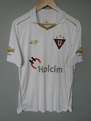 LDU Quito Umbro 2010 Home Football Shirt Trikot Jersey Rare Sz Large (150)