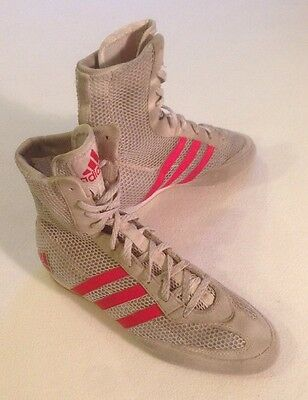 Adidas Box Hog Boxing Boots Trainers UK 5.5
