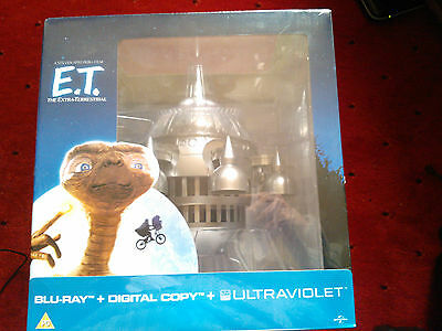 30Th Anniversary Ltd Edition E.t. Spaceship Blue Ray Uv Drew Barrymore