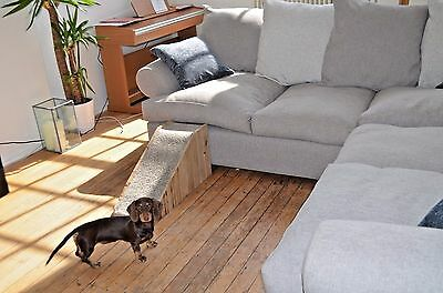 Doggy Ramp for Small Breeds, Luxury Carpet