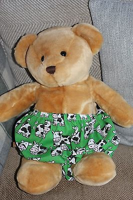Handmade Diaper/nappy Cover Pants 12-24 Months(Unisex) Cows