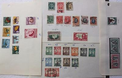 Southern Rhodesia Collection, #80, 54 etc., Mostly Used, Mounted On Paper