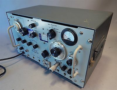 Hewlett Packard 624C Microwave  AT&T Long Lines Signal Generator frequency meter