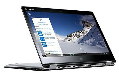 """Lenovo Yoga 710 14"""" FHD Touch i7-7500U 256GB SSD 8GB Laptop 2-in 1 Convertible"""