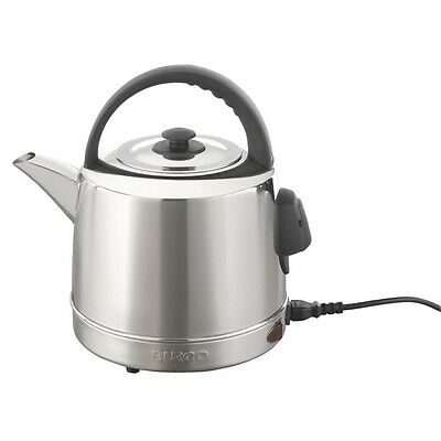 Burco Classic Kettle 4L 2.4kW Stainless Steel Electric Jug 305X310X230mm