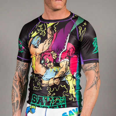 Gawakoto - Save the Earth Rashguard V3.0 MMA BJJ