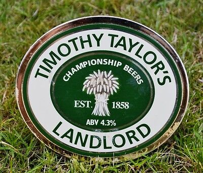 Timothy Taylor's Landlord Beer Pump Clip Real Ale Pub BBQ Keighley