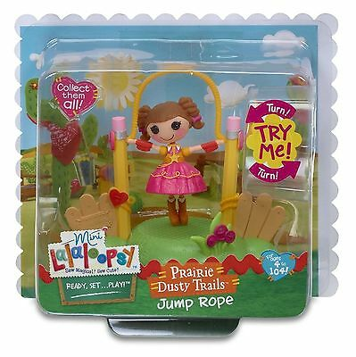 Mini Lalaloopsy Doll Playground - Prairie Dusty Trails Jump Rope New In Box