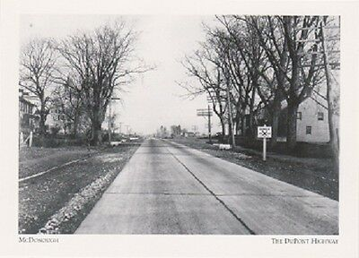 """+PC-Postcard-""""McDonough"""" -New Castle County-1924- Dupont Hwy/Delaware (#217)"""