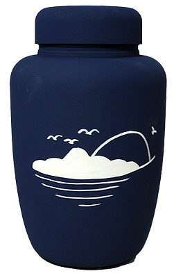 ECO Biodegradable Urn with Going Home Motif
