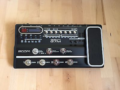 Zoom G7.1ut Multi Effects Pedal