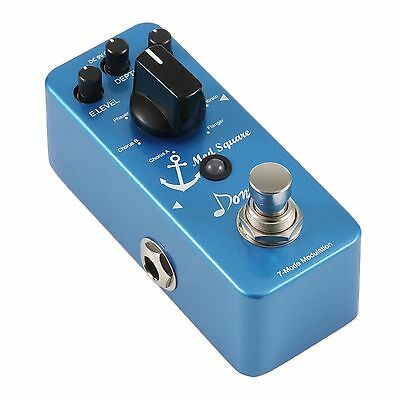 Donner Digital Guitar Modulation Effect Pedal Mod Square 7 Mode