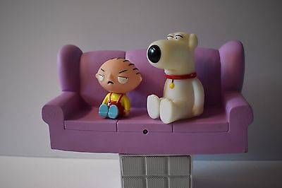 Family Guy Tv Talker Stewie And Brian Sitting On A Couch 2006 AS IS