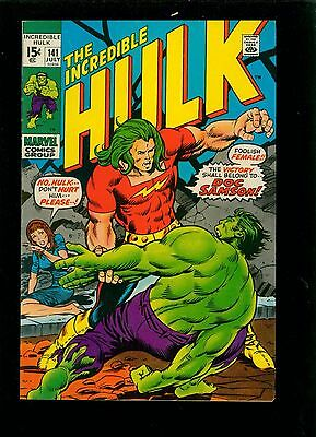 Incredible Hulk 141 - Large Scans