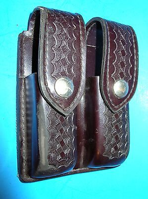 SAFARILAND 77 Double MAGAZINE POUCH for GLOCK 20, 21, 43, 40, 437, 77v